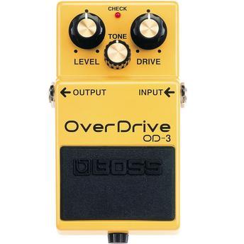 Pedal para Guitarra Overdrive Od-3 Boss