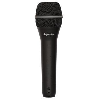 Microfone Com Fio de Mão Super Cardióide Top-258 Superlux