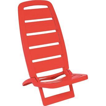 Cadeira Guarujá Polipropileno Vermelho 92051040 Tramontina