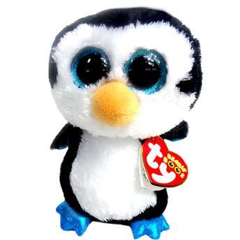 Pelúcia Beanie Boos Waddles Pinguin Preto Dtc