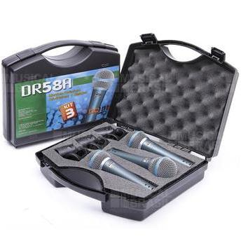 Kit 3 Microfones Ll Uni-direcional Dr58a Donner