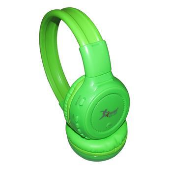 Fone de Ouvido Headphone Sem Fio Mp3 Verde Knup Kp347