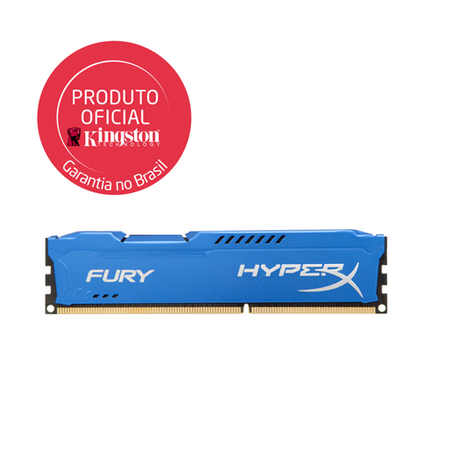 Memória Ram Hyperx Fury Blue 4gb Ddr3 1333mhz Hx313c9f/4 Kingston