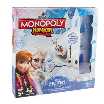 Jogo de Tabuleiro Monopoly Júnior Frozen Hasbro
