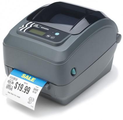 Impressora Térmica Etiqueta Zebra G-series Gk420t Transferência Térmica Monocromática Usb, Serial e Paralela Bivolt