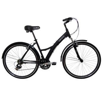 Bicicleta Tito Bike Urban Premium Aro 26 Susp. Dianteira 21 Marchas - Preto