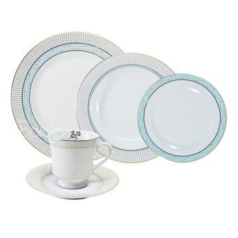 Aparelho de Jantar e Chá Audrey 30 Peças - Schmidt