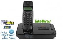 Telefone Sem Fio Intelbras Ts40se Com Id Preto