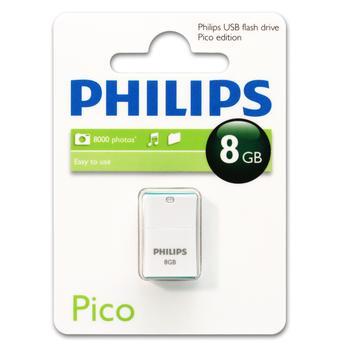 Pen Drive Philips Verde 8gb