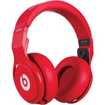 Fone de Ouvido Headphone Dobrável Pro Over Vermelho Beats