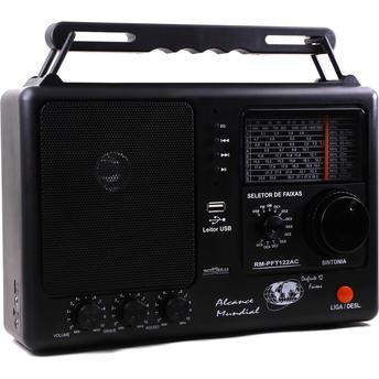 Rádio Portátil Com Rádio Am/fm Motobras 1 W Rms - Rmpf122ac