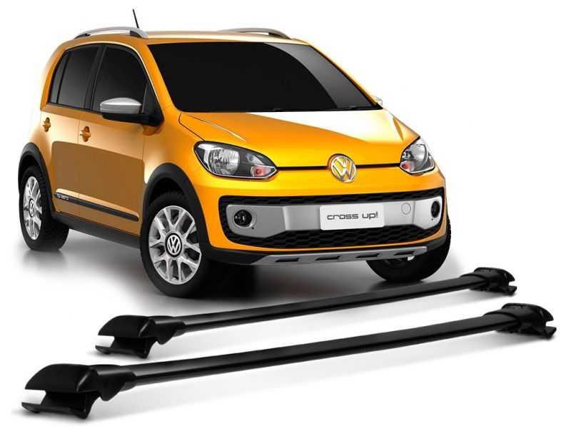 Rack Travessa de Teto para Volkswagen Up Cross - Preto Largo Projecar Vw-152