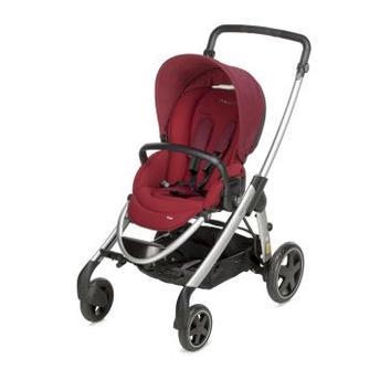 Carrinho de Bebe Bébé Confort Travel System Elea Robin Vermelho
