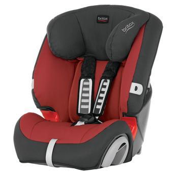 Cadeira para Automovel Britax Evolva 123 Preto e Vermelho