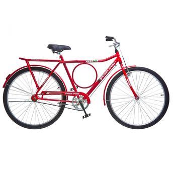 Bicicleta Colli Bike Barra Sport Vb Aro 26 Rígida - Vermelho