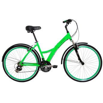 Bicicleta Tito Bike Urban Premium Aro 700 Susp. Dianteira 21 Marchas - Verde