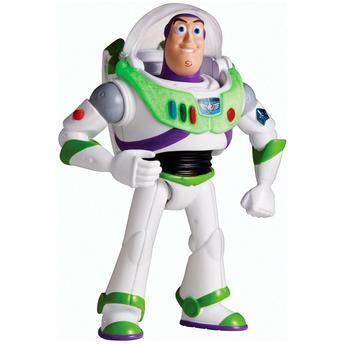 Boneco Com Mecanismo Buzz Lightyear Sem Asa Mattel