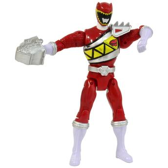 Boneco Power Ranger Dino Charger - Spinning Action - Ranger Vermelho Sunny Brinquedos