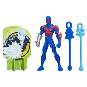 Boneco Ultimate Spider-man Web Warriors Lançadores de Teias Spyder Knight Hasbro