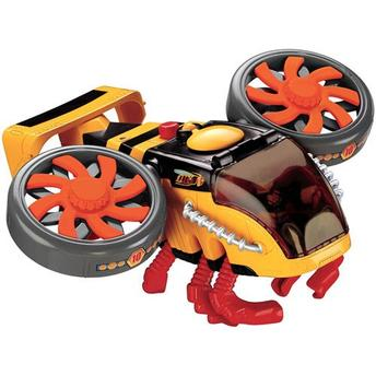 Boneco e Helicóptero Hornet Copter Imaginext Sky Racers Fisher Price