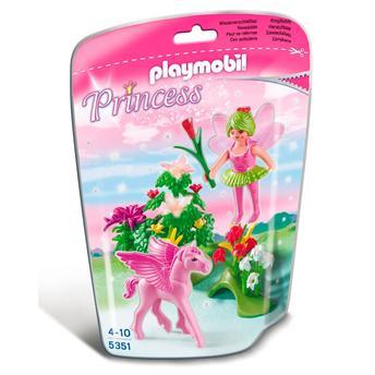 Boneco Playmobil Princesas Princesa da Primavera Com Pegasus Sunny Brinquedos