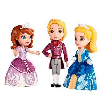 Boneca Princesas da Disney Mattel Mini Boneca Sofia e Família Real Clg24