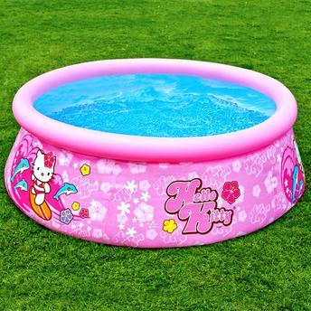 Piscina Circular Intex Easy Set Hello Kitty 886l