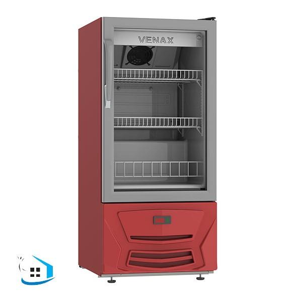 Geladeira/refrigerador 82 Litros 1 Portas Vermelho - Venax - 220v - Vvcd