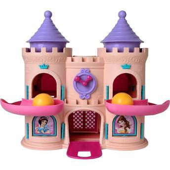 Castelo Com Bolinhas Princesas Elka Elka
