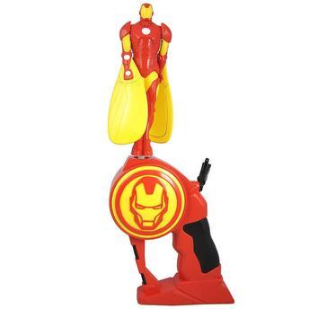 Boneco e Lançador Flying Heroes Iron Man Dtc