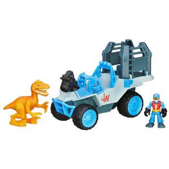 Veículo Jurassic World - Caminhão Com Jaula B0534 Hasbro