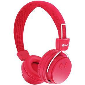Fone de Ouvido Headphone Bluetooth Ground Bee Rosa Beewi Bbh120a9