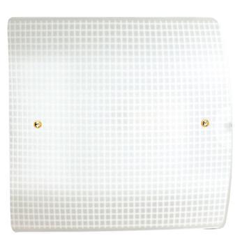 Arandela Pantoja & Carmona Quadrada 22cm X 8cm Branca - 252