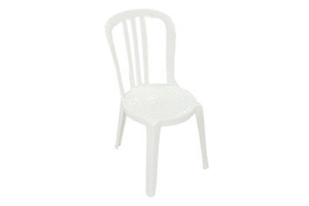 Cadeira Miami Bistrot Branca Grosfillex