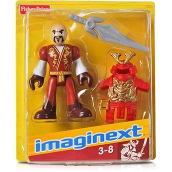 Boneco Básico Samurai Imaginext Castelo Samurai Fisher Price