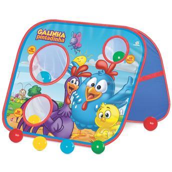 Jogo Educativo Acerte os Alvos Play Ball Galinha Pintadinha Lider Brinquedos