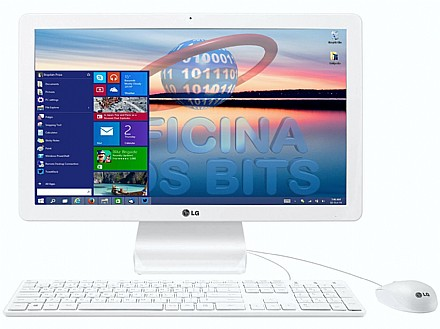 All In One Lg 22v240-l.bj31p1 Celeron N2930 1.83ghz 8gb 500gb Intel Hd Graphics Windows 10 21,5'
