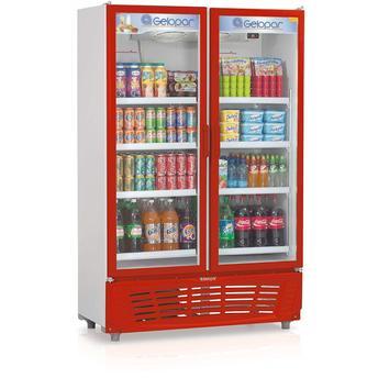 Geladeira/refrigerador 957 Litros 2 Portas Vermelho - Gelopar - 220v - Grvc950