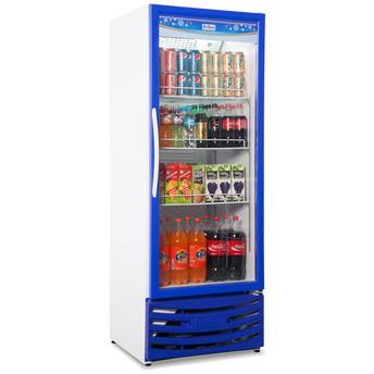 Geladeira/refrigerador 410 Litros 1 Portas Azul - Frilux - 110v - Vcf410