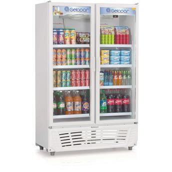 Geladeira/refrigerador 957 Litros 2 Portas Branco - Gelopar - 110v - Grvc950