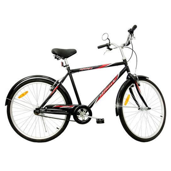 Bicicleta Monark City Aro 26 Rígida 1 Marcha - Preto