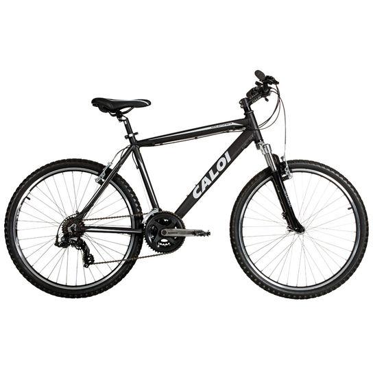 Bicicleta Caloi Supra T21 Aro 26 Susp. Dianteira 21 Marchas - Preto