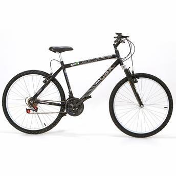 Bicicleta Colli Bike Cbx 750 Aro 26 Susp. Dianteira 16 Marchas - Preto