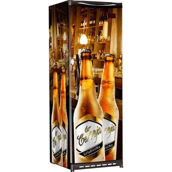 Geladeira/refrigerador 300 Litros 1 Portas Adesivado - Esmaltec - 110v - Cv300r