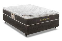 Colchão Herval Essential Plus 158x198x28cm Molas Pocket Queen Size