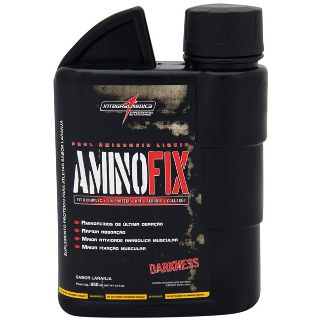 Amino Fix Liquid 650ml Laranja Integralmedica
