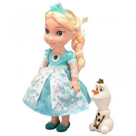 Boneca Princesas da Disney Sunny Brinquedos Elsa Neve Brilhante 1039