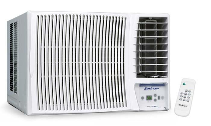 Ar Condicionado Janela Eletrônico 12000 Btu Quente/frio Minimaxi - Springer Carrier - 220v - Mqd125rb