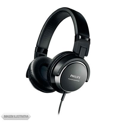 Fone de Ouvido Headphone Dj Preto Philips Shl3260bk00