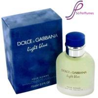Perfume Light Blue Pour Homme Dolce & Gabbana Eau de Toilette Masculino 200 Ml